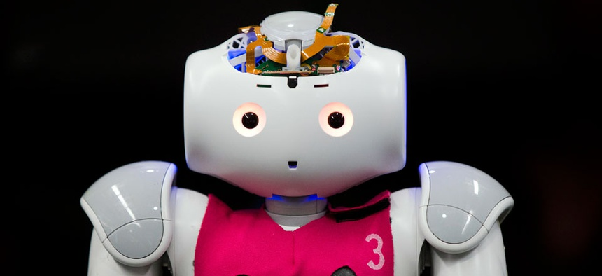 Would you let a robot boss you around?