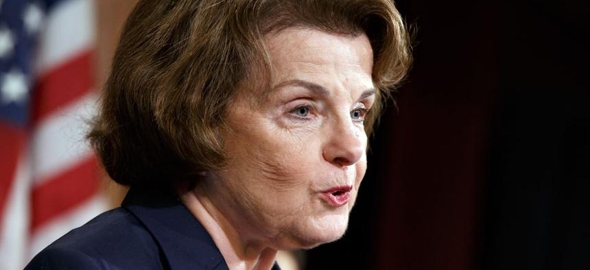 Sen. Dianne Feinstein, D-Calif., chair of the Senate Intelligence Committee
