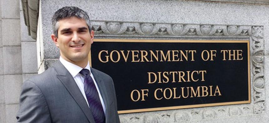 D.C. Council General Counsel V. David Zvenyach
