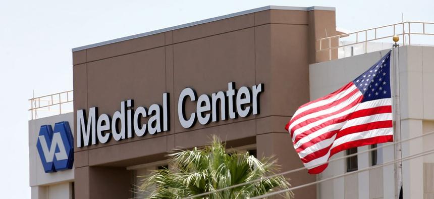 The Department of Veterans Affairs in Phoenix.