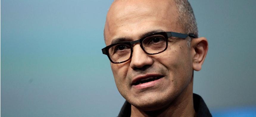 Satya Nadella, CEO of Microsoft