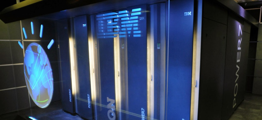 "IBM's ""Watson"" computer in Yorktown Heights, N.Y."