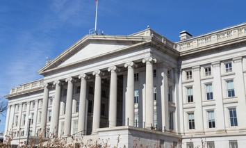 U.S. Treasury Department headquarters in Washington, D.C.