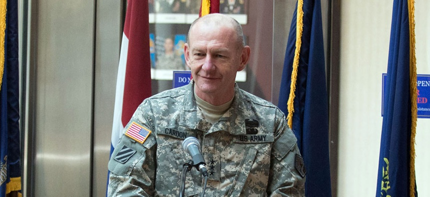 Lt. Gen. Edward Cardon, commanding general of the Army Cyber Command.