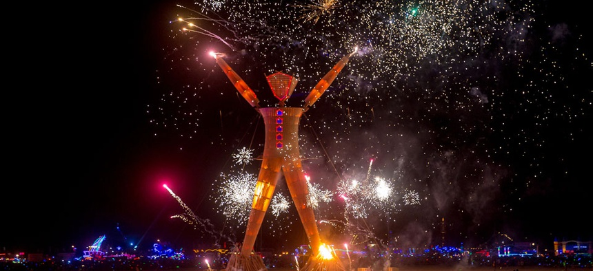Hackers Cut In Line for Burning Man Tickets, Hack Back