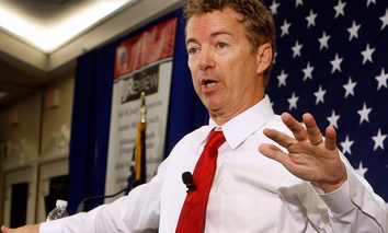 Republican presidential hopeful Sen. Rand Paul, R-Ky.