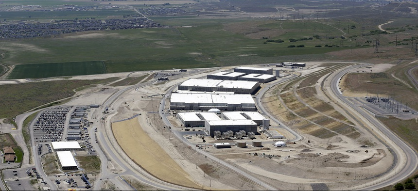 The National Security Agency's Utah Data Center in Bluffdale, Utah.