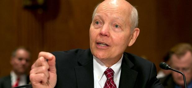 IRS Commissioner John Koskinen testifies on Capitol Hill in Washington, Tuesday, June 2, 2015