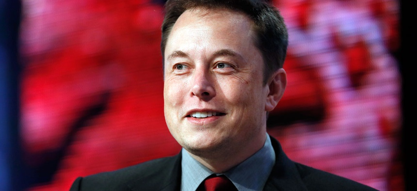 Elon Musk, head of Tesla Motors and SpaceX