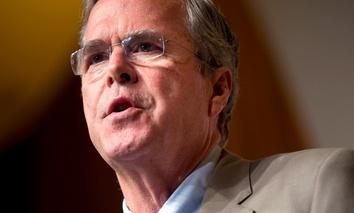 Republican presidential candidate former Florida Gov. Jeb Bush