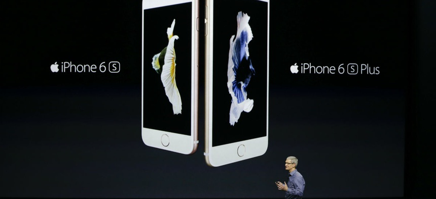 Apple CEO Tim Cook discusses the new iPhone 6s and iPhone 6s Plus.