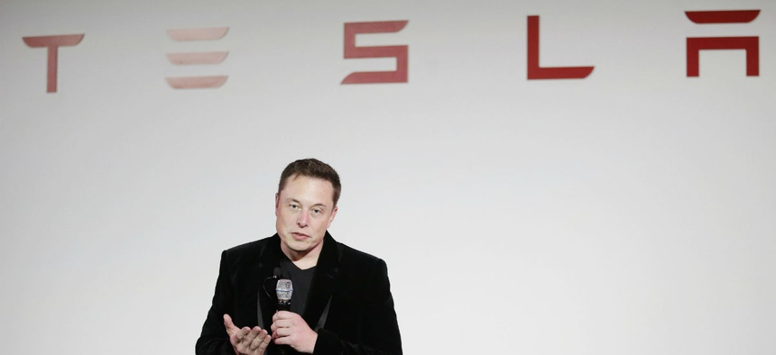 Elon Musk, CEO of Tesla Motors Inc.