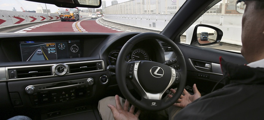 Cars might soon drive for us and monitor our health.