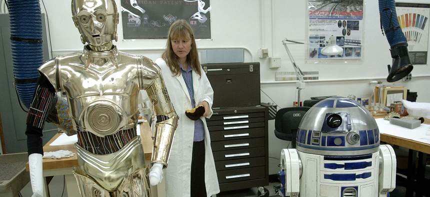 We need more women working on the real-life C3PO and R2D2.