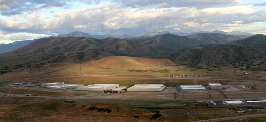 NSA's data center in Bluffdale, Utah