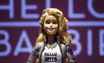 Hello Barbie records and stores conversations between kids and their dolls to improve speech-recognition technology.