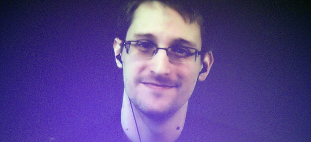 Former U.S. National Security Agency contractor Edward Snowden