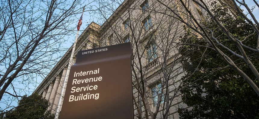 IRS headquarters in Washington, DC.