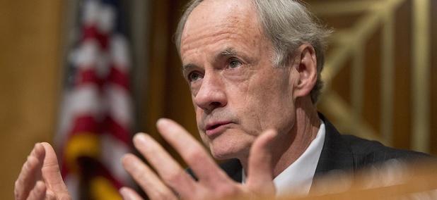 Senate Homeland Security and Government Affairs Committee ranking member Sen. Thomas Carper, D-Del.