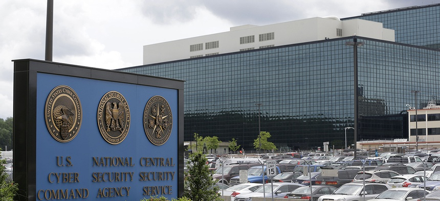 The National Security Administration campus in Fort Meade, Md