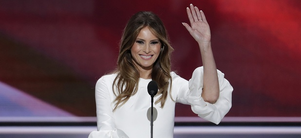 Melania Trump, wife of Republican Presidential Candidate Donald Trump