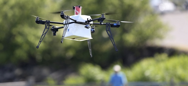 A drone aircraft wi, ... ]