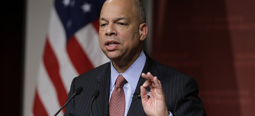 Homeland Security Secretary Jeh Johnson