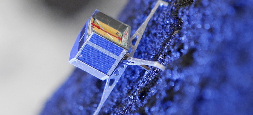 A model of Rosetta lander Philae