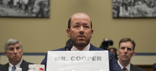 Justin Cooper, aide to former President Bill Clinton and the administrator for the private server located in the Chappaqua, New York, testifies on Capitol Hill,