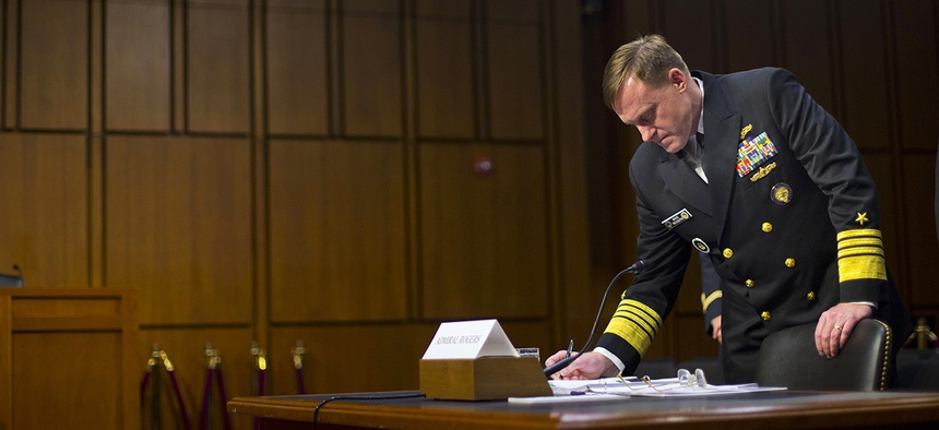 National Security Agency director Adm. Michael Rogers