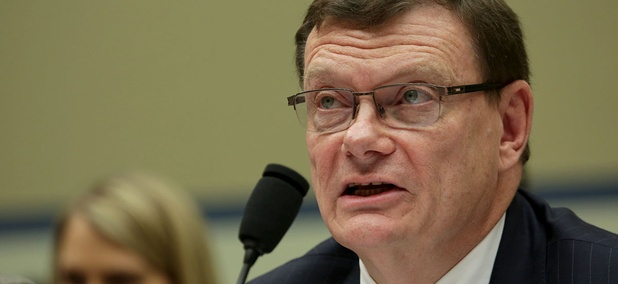 Defense Department Chief Information Officer Terry Halvorsen