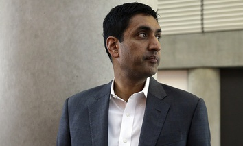 Ro Khanna, 39, a Democrat who will represent California's 17th district south of San Francisco.