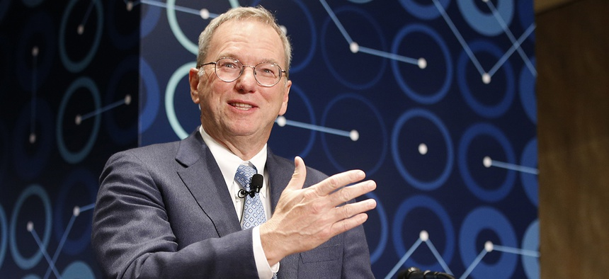 Eric Schmidt, executive chairman of Alphabet