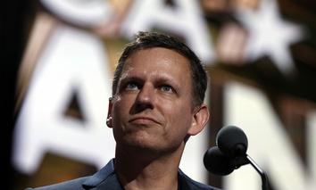 Billionaire tech investor Peter Thiel