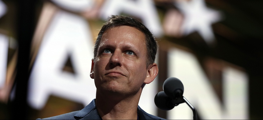 Billionaire tech investor Peter Thiel