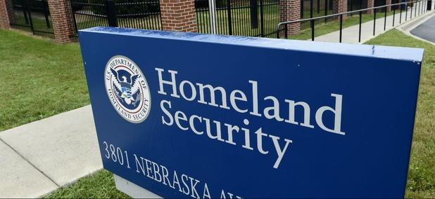 The Homeland Security Department headquarters in northwest Washington.