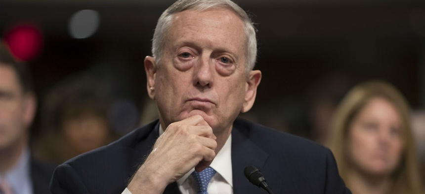 Defense Secretary-designate James Mattis