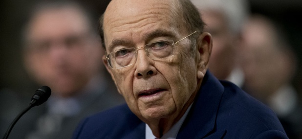 Commerce Secretary-designate Wilbur Ross testifies on Capitol Hill.