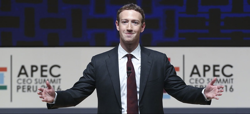 Mark Zuckerberg, chairman and CEO of Facebook