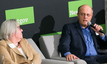 Interior Department's Mark Bathrick at Nextgov's Tech + Tequila  Feb. 23.