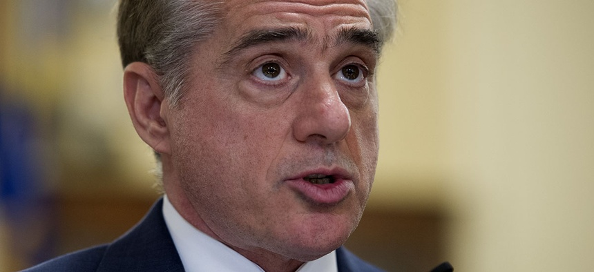 Secretary of Veterans Affairs David Shulkin