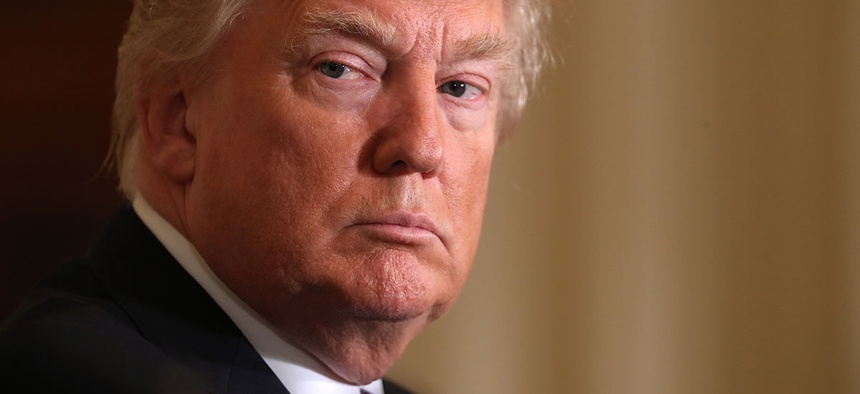 President Donald Tr, ... ]