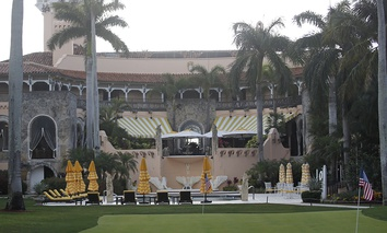 President Donald Trump's Mar-a-Lago estate in Palm Beach, Fla.