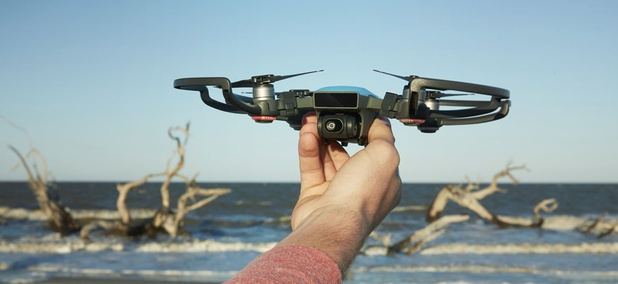 The DJI Spark drone