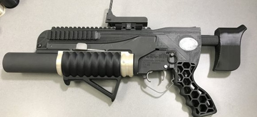 The additive-manufactured RAMBO system includes an NSRDEC-designed standalone kit with printed adjustable buttstock, mounts, grips and other modifications—modifications made possible by the quick turnaround time afforded by 3D printing.