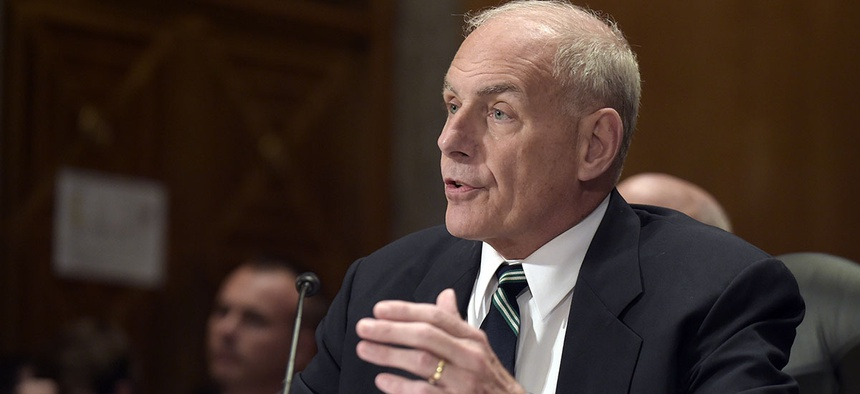 Homeland Security Secretary John F. Kelly will become the new White House Chief of Staff.