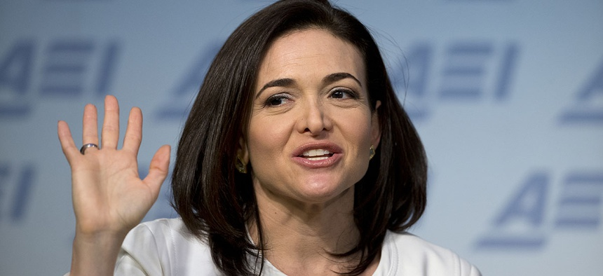 Facebook Chief Operating Officer Sheryl Sandberg