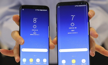 Samsung Electronics' Galaxy S8 and S8+ smartphones.