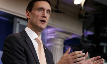 White House homeland security adviser Tom Bossert