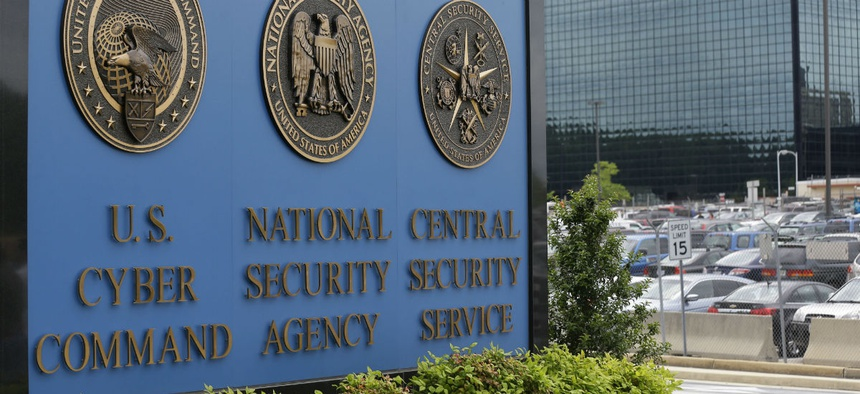 NSA's headquarters in Fort Meade, Maryland.